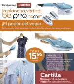 Plancha vertical Be Pro Home